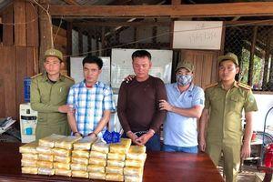 Phá 2 vụ án ma túy lớn tại biên giới Quảng Trị