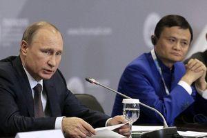 Gặp tỉ phú Jack Ma, ông Putin khẳng định chưa có kế hoạch nghỉ hưu