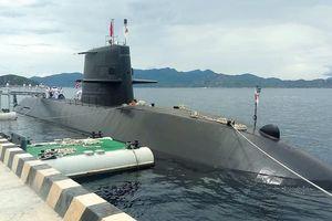 Việt Nam lần đầu tiên đón tàu ngầm Nhật Bản