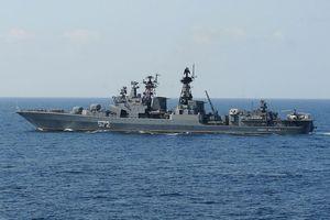 Dàn chiến hạm hùng hậu của Nga áp sát Syria, chờ lệnh khai hỏa của Putin?