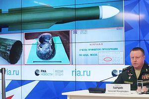 Bộ Quốc phòng Nga tung bằng chứng mới về tên lửa đã bắn hạ máy bay MH17