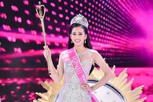 Nữ sinh 10X Trần Tiểu Vy trở thành tân Hoa hậu Việt Nam 2018