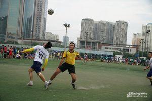 Khai mạc Giải Bóng đá Thanh Chương mở rộng lần thứ 8 tại Hà Nội