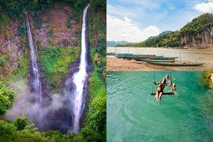 Không có biển, Lào vẫn quyến rũ du khách bởi những dòng sông, thác nước