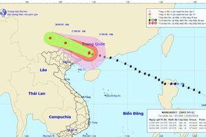 Bão Mangkhut đổ bộ Trung Quốc, vùng Đông Bắc Bộ mưa lớn