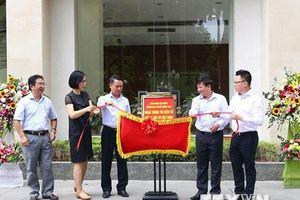 Hình ảnh Thông tấn xã Việt Nam khai trương bảng thông tin điện tử