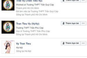 Giả mạo facebook Hoa hậu Trần Tiểu Vy bị xử lý thế nào?