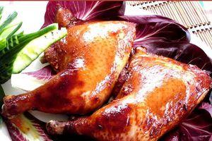Công thức 'bí truyền' cho món gà quay ngũ vị thơm nức mũi