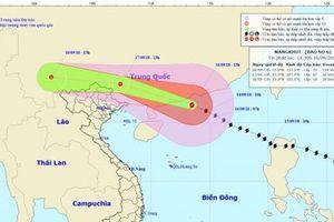 Bão Mangkhut suy yếu, Bắc Bộ mưa lớn