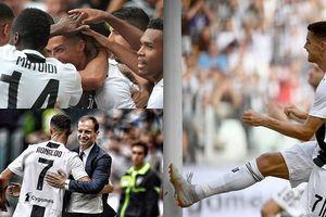 Ronaldo đi vào lịch sử trong ngày xé lưới Sassuolo