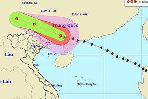 Các địa phương không chủ quan với hoàn lưu sau bão Mangkhut