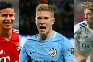 Top 10 'vua chuyền bóng' trong FIFA 19: Messi chào thua De Bruyne