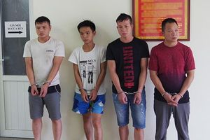 Đánh sập ổ nhóm tội phạm người nước ngoài trộm cắp xuyên quốc gia