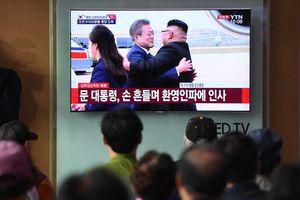 Lãnh đạo Kim Jong Un bất ngờ ra sân bay Bình Nhưỡng đón TT Hàn Quốc