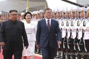 Tổng thống Moon và Chủ tịch Kim bắt đầu cuộc họp thượng đỉnh lịch sử
