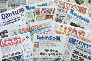 Kéo dài thời gian nhận bài dự thi 2 giải báo chí do Thành ủy Hà Nội tổ chức