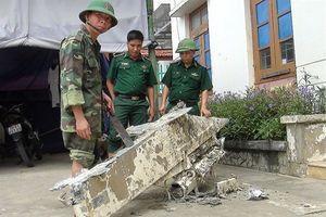 Phát hiện vật thể lạ nặng 200 kg rơi ở biển Quảng Bình