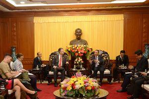 Lãnh đạo thành phố tiếp Đại sứ đặc mệnh toàn quyền Hoa Kỳ tại Việt Nam