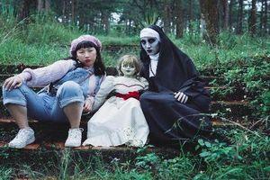 'Rợn người' với Thánh lầy Trang Hý rủ rê Valak và Annabelle lập hội bạn thân