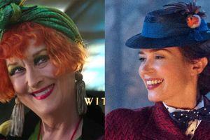Meryl Streep lòe loẹt, Emily Blunt dịu dàng trong 'Mary Poppins Returns'