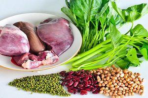 Những loại thực phẩm, rau củ giàu sắt tốt cho sức khỏe