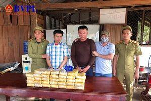 Quảng Trị: Bắt vụ vận chuyển ma túy tổng hợp lớn nhất cả nước