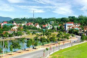 Thị trấn Thanh Chương được công nhận đô thị loại V