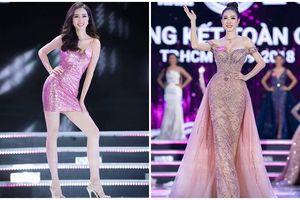 Thân hình nóng bỏng, mặt đẹp như thiên sứ của mỹ nhân có gương mặt khả ái trượt ngôi Hoa hậu
