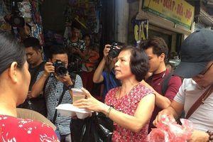 Nhiều hoạt động hỗ trợ người thiệt hại trong vụ cháy kinh hoàng ở Đê La Thành