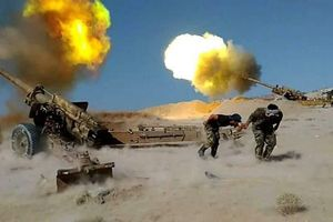 Quân đội Syria nã đạn pháo vào Idlib và Hama, phá nát căn cứ quân sự của khủng bố