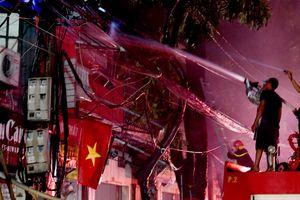 19 căn nhà, 31 hộ dân thiệt hại trong vụ cháy gần Viện Nhi