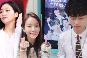 Kim Go Eun cùng VIXX khiến Han Ji Min và N bất ngờ với xe tải đồ ăn tại phim trường 'Người vợ thân quen'