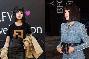 Hoa hậu con nhà giàu Việt, Jolie Nguyễn sáng trưng với cây đồ hiệu, ngồi hàng đầu London Fashion Week