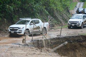 Chevrolet Colorado dọc miền biên viễn: Vượt núi sạt, ngược thác sông
