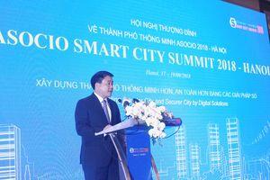 Hội nghị Thượng đỉnh về Thành phố thông minh ASOCIO 2018 - Hà Nội: Kết nối phát triển công nghệ số