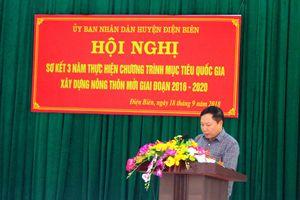 Huyện Điện Biên: Sức bật từ phong trào xây dựng nông thôn mới