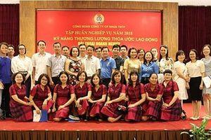 Công ty CP Nhựa Thiếu niên Tiền Phong tập huấn về Thỏa ước lao động tập thể