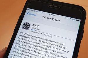 Apple phát hành iOS 12, hiệu năng được nâng cao