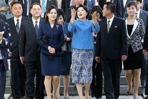 Đệ nhất phu nhân liên Triều thân mật thăm viện nhi tại Bình Nhưỡng