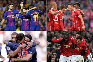 10 hàng công mạnh nhất Champions League 2018/2019: Tam tấu Barcelona số 2
