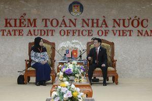 Tổng Kiểm toán nhà nước Việt Nam hội đàm với Tổng Kiểm toán nhà nước Malaysia