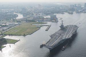 Nhóm tác chiến tàu sân bay Harry Truman bắt đầu triển khai với hạm đội 6, Hải quân Mỹ