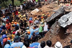 Luzon (Philippines): Sạt lở đất, 100 người chết