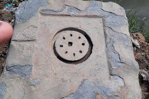 Đào được hiện vật là biểu tượng Yoni của văn hóa Chăm