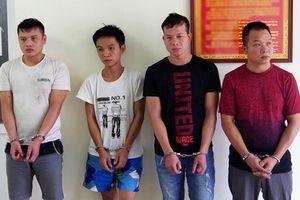 Cảnh sát vây bắt nhóm trộm Trung Quốc chuyên phá két sắt