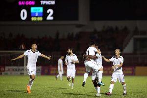 Học trò Miura vùi dập Sài Gòn FC 5-0 trong trận 'derby sân Thống Nhất'