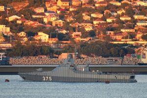 Nga cấp tốc nhận chiến hạm tàng hình trong tình hình nóng