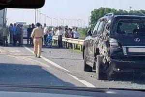 Lộ diện chủ nhân xe Lexus biển tứ quý 8 bị đâm bẹp, tài xế tử vong