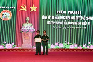 Quân khu 5 tổng kết Nghị quyết số 28 của Bộ Chính trị (khóa X)
