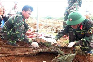 Phát hiện và cất bốc 14 hài cốt liệt sĩ tại Dốc Miếu, Gio Linh, Quảng Trị